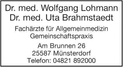 Hartmann-Marktplatz Dr. med. Wolfgang Lohmann Dr. med. Uta Brahmstaedt Hartmann-Plan