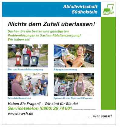 Hartmann-Marktplatz Abfallwirtschaft Südholstein GmbH Hartmann-Plan
