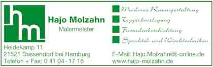 Hartmann-Marktplatz Hajo Molzahn Malermeister Hartmann-Plan