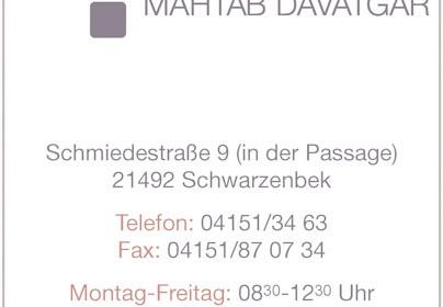 Hartmann-Marktplatz Mahtab Davatgar Zahnarztpraxis Hartmann-Plan
