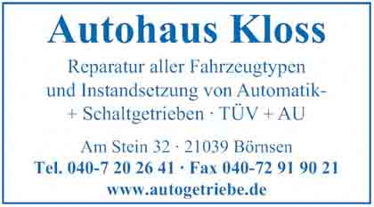Hartmann-Marktplatz Autohaus Kloss Hartmann-Plan
