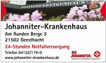 Hartmann-Marktplatz Johanniter Krankenhaus Geesthacht Hartmann-Plan