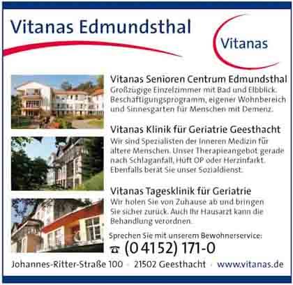 Hartmann-Marktplatz Vitanas GmbH & Co. KG aA - BS Klinik für Geriatrie Hartmann-Plan