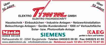 Hartmann-Marktplatz ElektroTimm GmbH Hartmann-Plan
