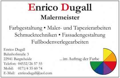 Hartmann-Marktplatz Malermeister - Enrico Dugall Hartmann-Plan