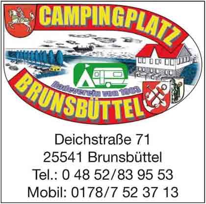 Hartmann-Marktplatz Campingplatz Brunsbüttel Hartmann-Plan