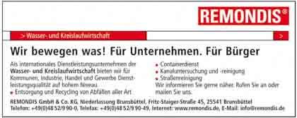 Hartmann-Marktplatz Remondis GmbH & Co. KG - Niederlassung Brunsbüttel Hartmann-Plan