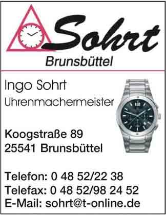 Hartmann-Marktplatz Uhrmachermeister - Ingo Sohrt Hartmann-Plan
