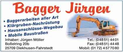 Hartmann-Marktplatz Bagger Jürgen Hartmann-Plan