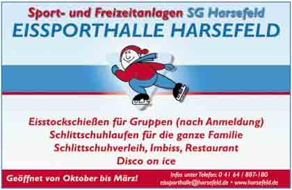 Hartmann-Marktplatz Eissporthalle Harsefeld Hartmann-Plan