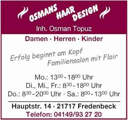 Hartmann-Marktplatz Osmans Haar Design Hartmann-Plan