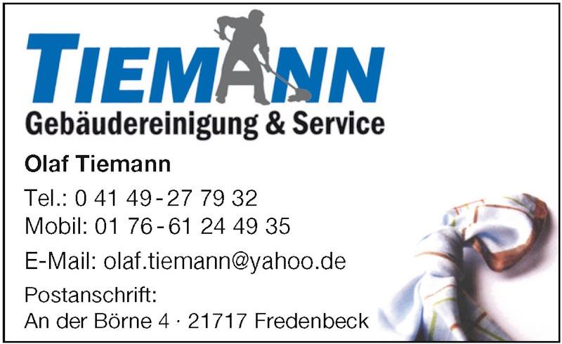 Hartmann-Marktplatz Tiemann Gebäudereinigung Hartmann-Plan