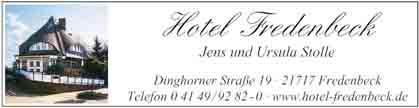 Hartmann-Marktplatz Hotel Fredenbeck Hartmann-Plan