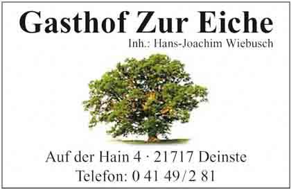 Hartmann-Marktplatz Gasthof zur Eiche Hans-Joachim Wiebusch Hartmann-Plan