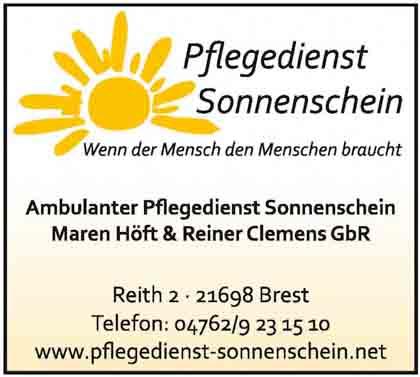 Hartmann-Marktplatz Pflegedienst Sonnenschein Maren Höft & Rainer Clemens GbR Hartmann-Plan