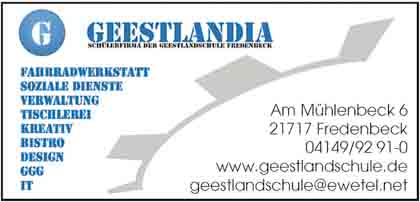 Hartmann-Marktplatz Geestlandia Hartmann-Plan