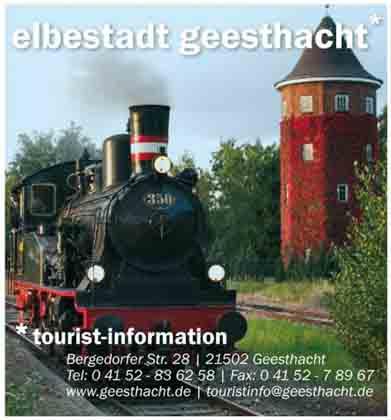 Hartmann-Marktplatz Tourist-Information - Stadt Geesthacht Hartmann-Plan