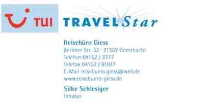 Hartmann-Marktplatz TUI Travel Star- Reisebüro Giess Hartmann-Plan