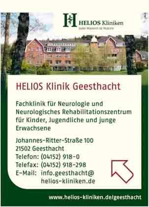 Hartmann-Marktplatz HELIOS Klinik Geesthacht GmbH- Neurologische Fachklinik und- Rehabilitationszentrum für Neurologie Hartmann-Plan