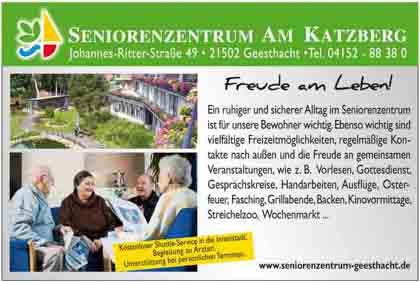 Hartmann-Marktplatz Seniorenzentrum Am Katzberg - Alten- und Pflegeheim der Stadt Geesthacht Hartmann-Plan