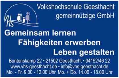 Hartmann-Marktplatz Volkshochschule Geesthacht - gemeinnützige GmbH Hartmann-Plan