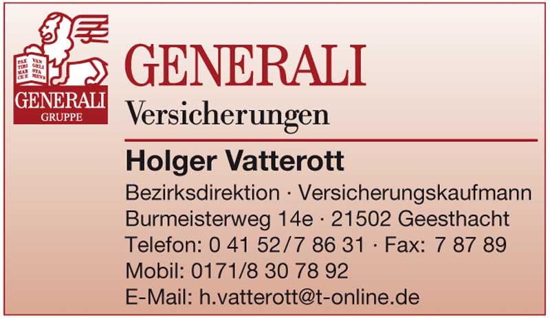 Generali Versicherungen Holger Vatterott Hartmann Marktplatz