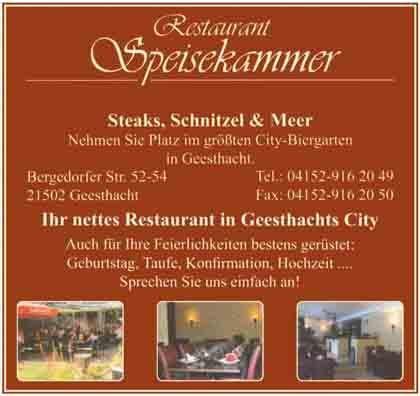 Hartmann-Marktplatz Restaurant Speisekammer Hartmann-Plan
