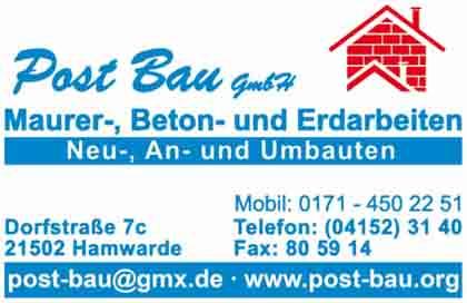 Hartmann-Marktplatz Post Bau GmbH Hartmann-Plan