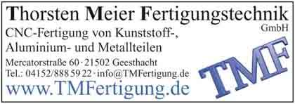 Hartmann-Marktplatz TMF Thorsten Meier - Fertigungstechnik GmbH Hartmann-Plan