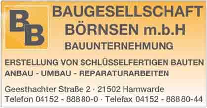 Hartmann-Marktplatz Baugesellschaft Börnsen mbH Hartmann-Plan