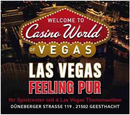 Hartmann-Marktplatz Casino World of Vegas Hartmann-Plan