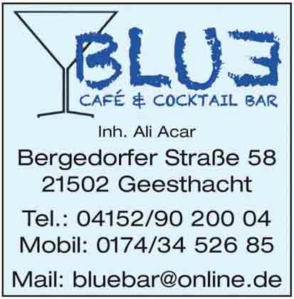 Hartmann-Marktplatz Blue Café-Bar Hartmann-Plan