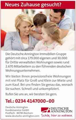 Hartmann-Marktplatz Deutsche Annington Immobilien Hartmann-Plan