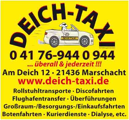 Hartmann-Marktplatz Deich - Taxi UG Hartmann-Plan