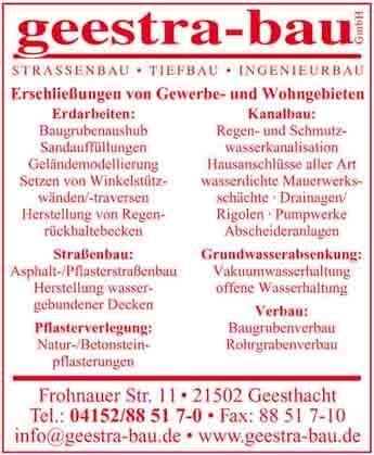 Hartmann-Marktplatz Geestra-Bau GmbH Hartmann-Plan