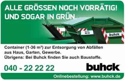 Hartmann-Marktplatz Buhck Umweltservices GmbH & Co. KG Hartmann-Plan