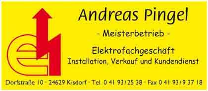 Hartmann-Marktplatz Elektrofachgeschäft - Andreas Pingel Hartmann-Plan