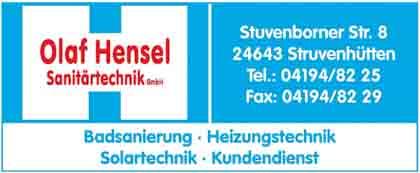 Hartmann-Marktplatz Olaf Hensel - Sanitärtechnik GmbH Hartmann-Plan