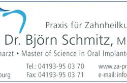 Zahnarztpraxis - Dr. Björn Schmitz