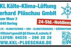 Kälte * Klima * Lüftung GmbH- Gerhard Plüschau