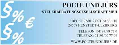 Hartmann-Marktplatz Polte und Jürs- Steuerberatungs-- gesellschaft mbH Hartmann-Plan