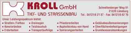 Hartmann-Marktplatz Kroll GmbH- Tief- & Straßenbau Hartmann-Plan