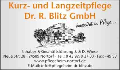 Hartmann-Marktplatz Kurz- und Langzeitpflege Dr. R. Blitz GmbH Hartmann-Plan