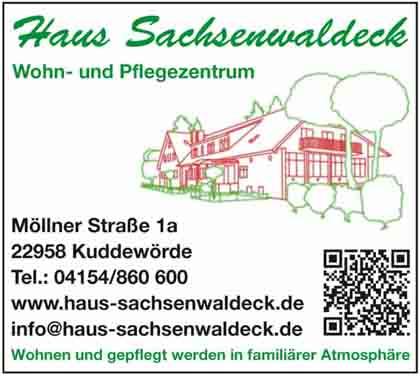 Hartmann-Marktplatz Wohn - und Pflegezentrum Haus Sachsenwaldeck Saß GbR Hartmann-Plan