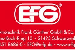 EFG   Elektrotechnik  Frank Günther GmbH &  Co. KG