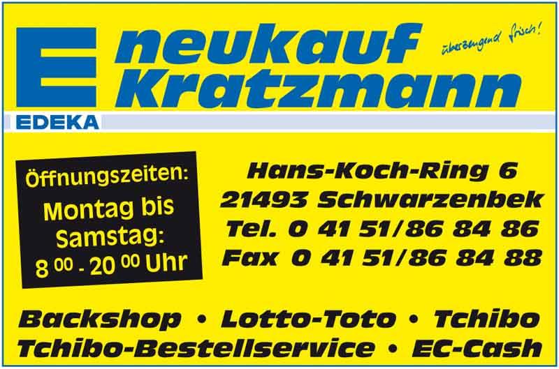Hartmann-Marktplatz Neukauf Kratzmann KG Hartmann-Plan