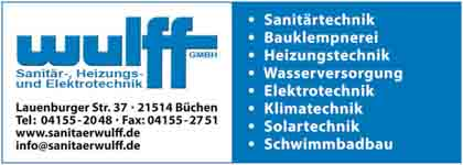 Hartmann-Marktplatz Wulff GmbH - Sanitär- u. Heizungstechnik Hartmann-Plan