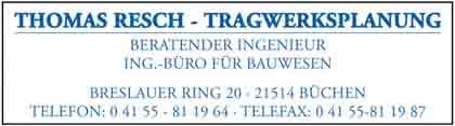 Hartmann-Marktplatz Dipl.-Ing. (FH) Thomas Resch- Tragwerksplanung Hartmann-Plan