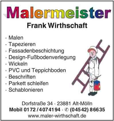 Hartmann-Marktplatz Frank Wirthschaft - Maler- u. Lackierermeister Hartmann-Plan