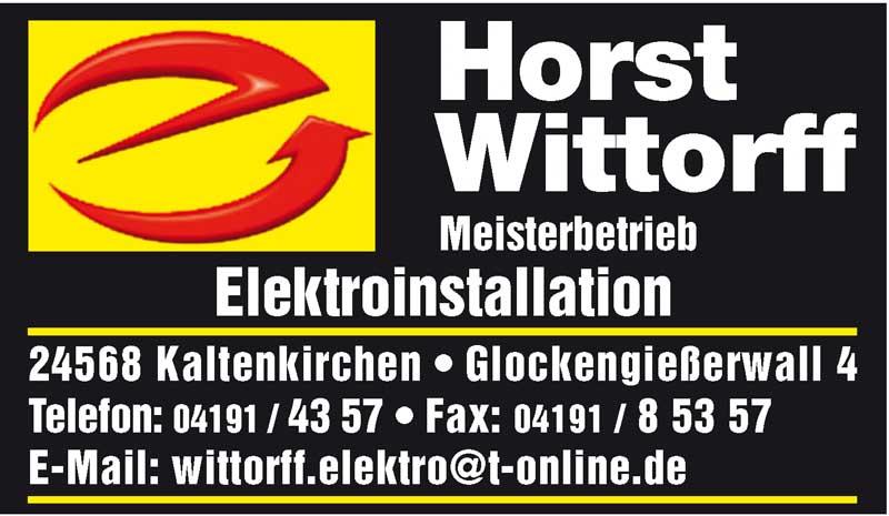 Hartmann-Marktplatz Horst Wittorff - Elektroinstallation Hartmann-Plan